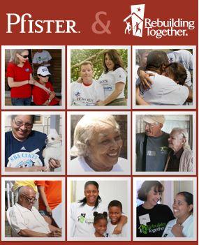 """Friends of Pfister Rebuilding Together #PfisterHop"""
