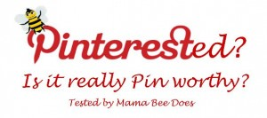 """""""Pinterest pin test Mama Bee Does"""""""