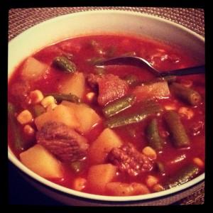 """""""easy beef stew recipe slow cooker crock pot"""""""