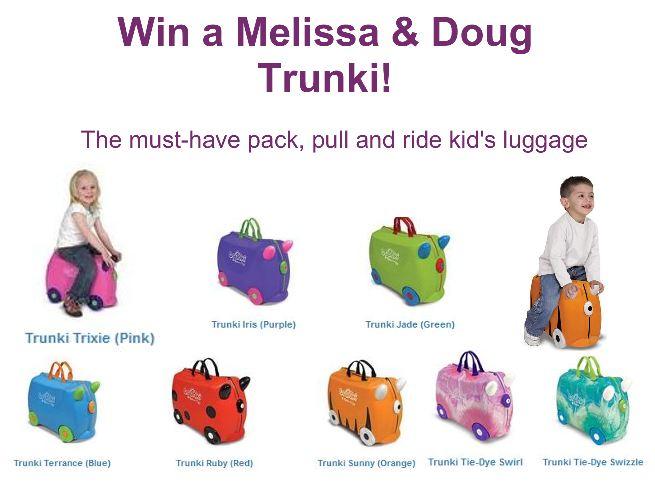 """""""Melissa and Doug Trunki giveaway"""""""