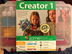 Zometool Creator 1 set review- oh the building possibilities