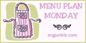 Menu Plan Monday 3/4 with recipe links