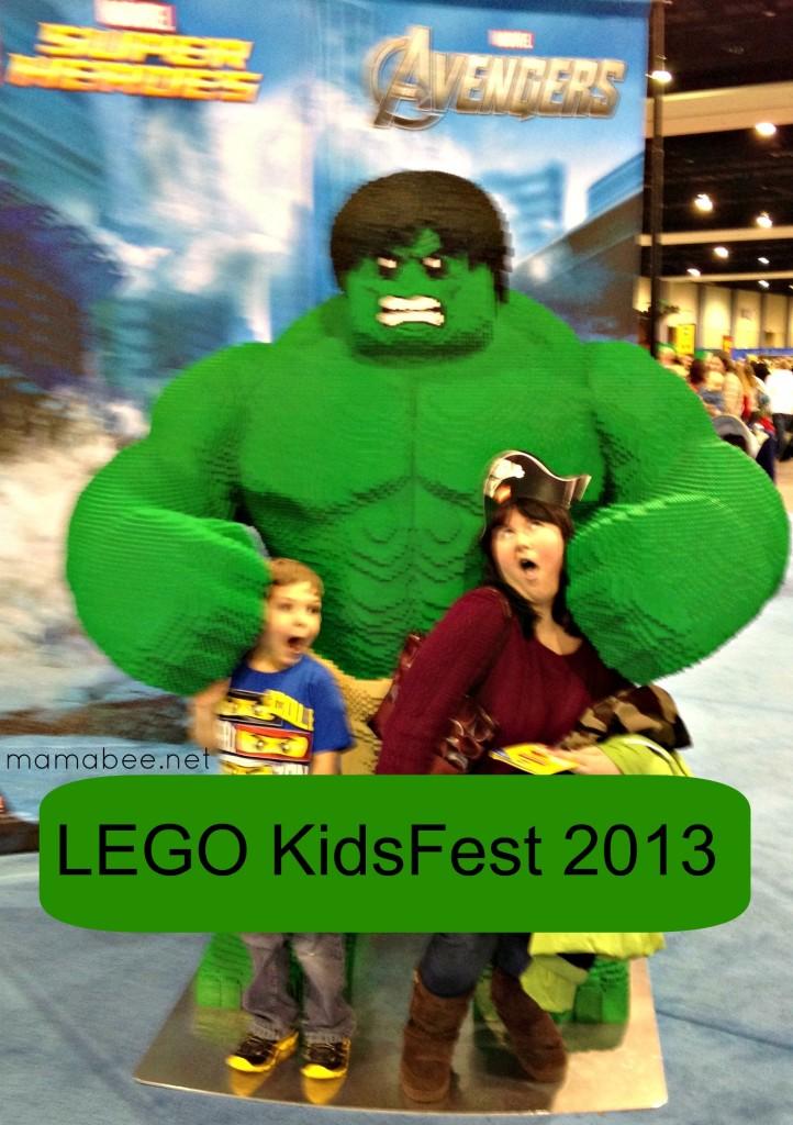 Lego KidsFest VA 2013 Super Hero Avengers Hulk
