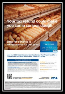 Visa prepaid card taxes