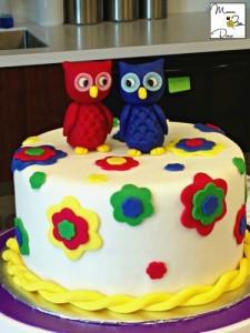 wilton owl cake