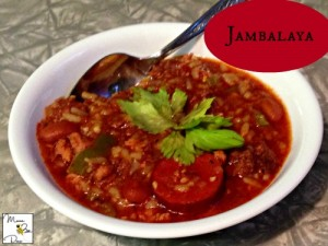 #ad Jambalaya recipe using Tyson ground chicken #CreateAMeal #cbias
