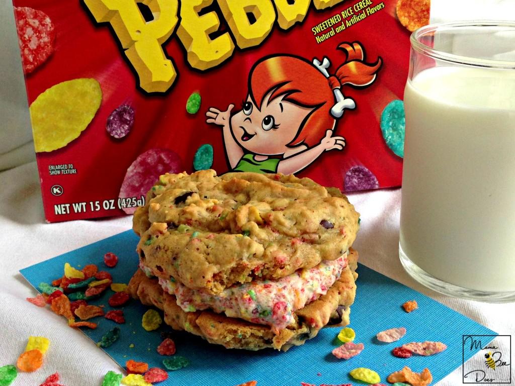 fruity pebbles cookie sandwich recipe