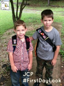 Back to school style with JCPenney #FirstDayLook
