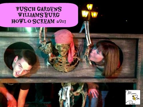 busch gardens howl o scream skeleton