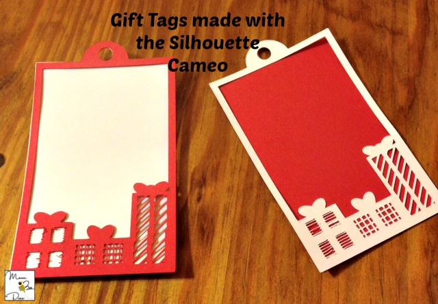 silhouette cameo gift tags
