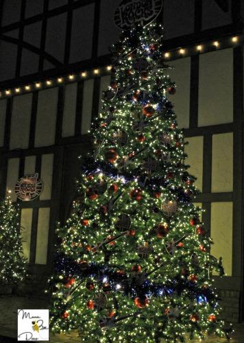 Busch Gardens Christmastown tree