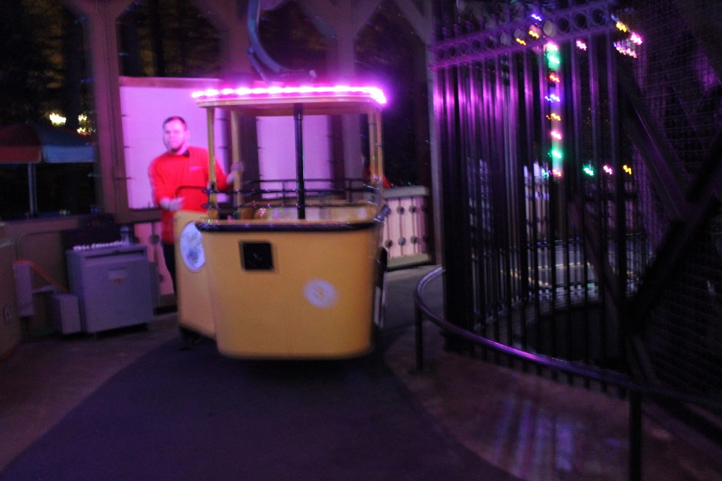 Busch Gardens skyride