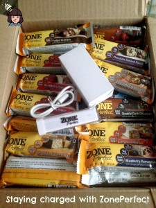 Keeping Mom charged with ZonePerfect bars #BlogForward (giveaway)