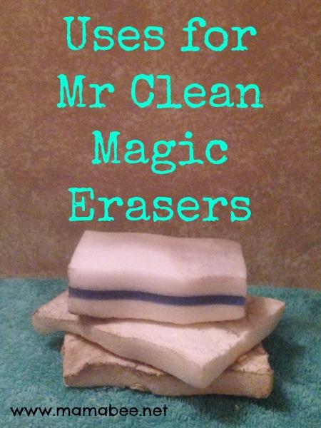 uses mr clean magic eraser