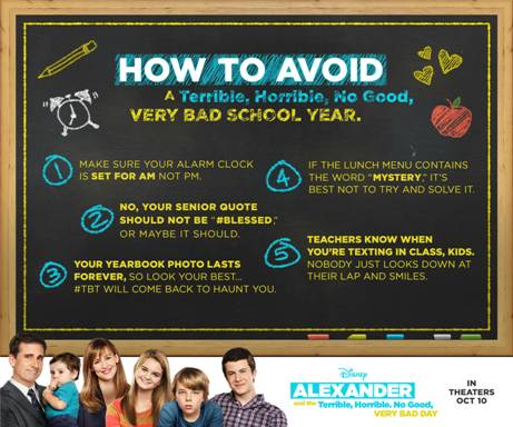 Alexander and the Terrible, Horrible, No Good, Very Bad Day #VeryBadDay