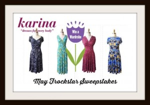 Win a wardrobe of Karina Dresses $500 giveaway (US/CA) #dresstacular #frockstar #fashion
