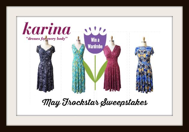 kd may frockstar giveaway