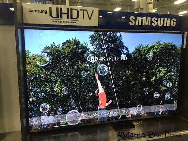 Samsung SUHD 4k television