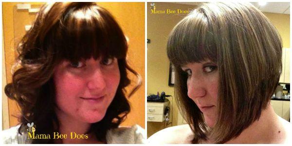 mom hairstyle angled bob haircut