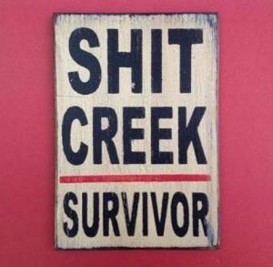 divorce shit creek survivor