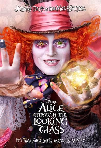 mad hatter alice through the looking glass