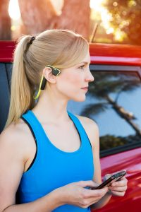 Trekz titanium bone conduction wireless headphones