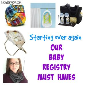 Starting over again- our baby must haves for baby number 3