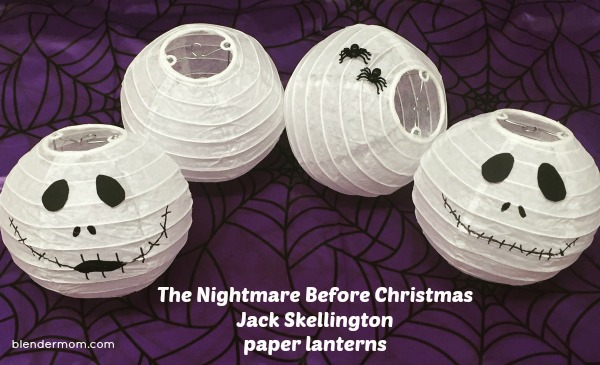 the nightmare before Christmas party decorations