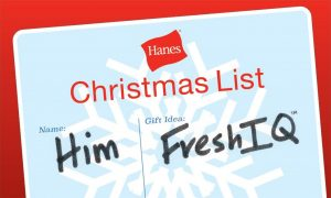 holiday gift guide- gifts for him with Hanes FreshIQ ($50 American Express giveaway)