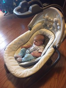 Minimize meltdowns with @GracoBaby Graco Oasis swing with soothe surround technology