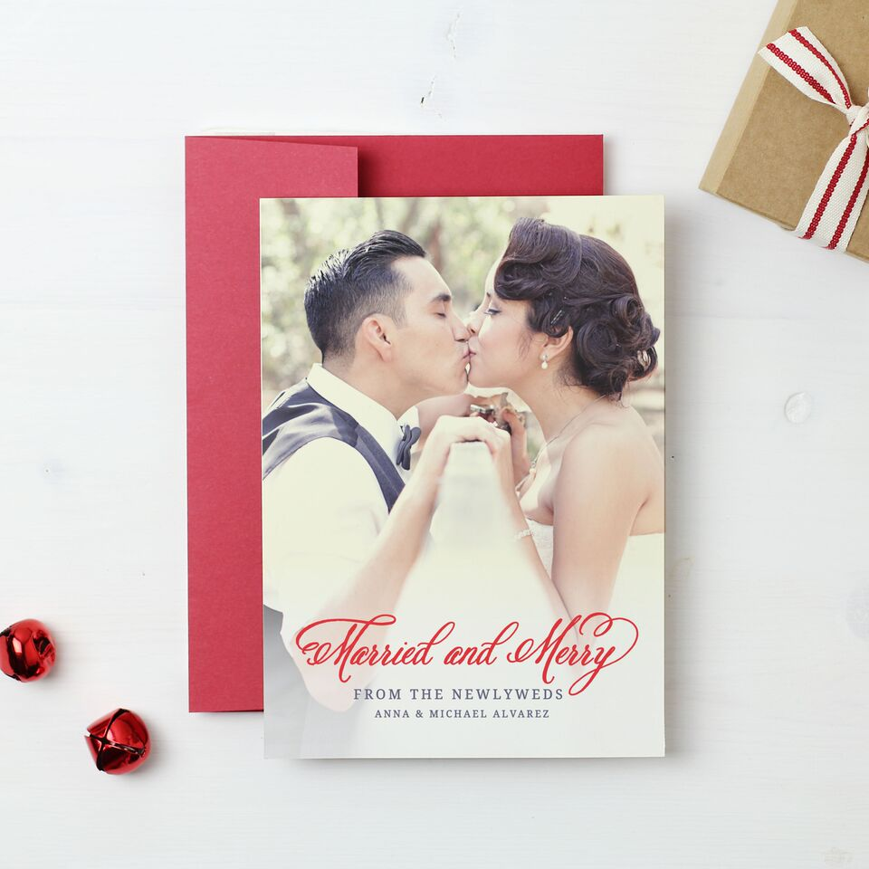 holiday cards basic invite