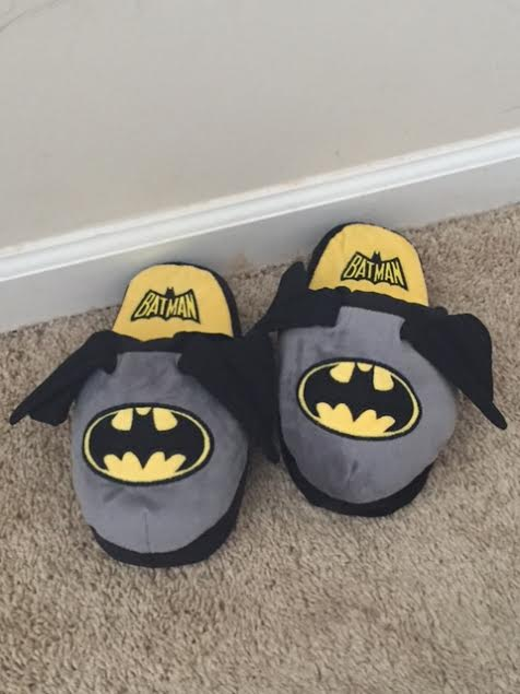 stompeez slippers batman
