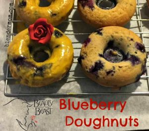 blueberry doughnut recipe