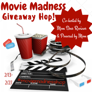 Fandango $25 gift card giveaway #MovieMadness