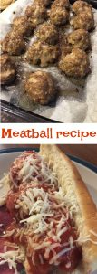 Meatballs recipe to make meatball subs