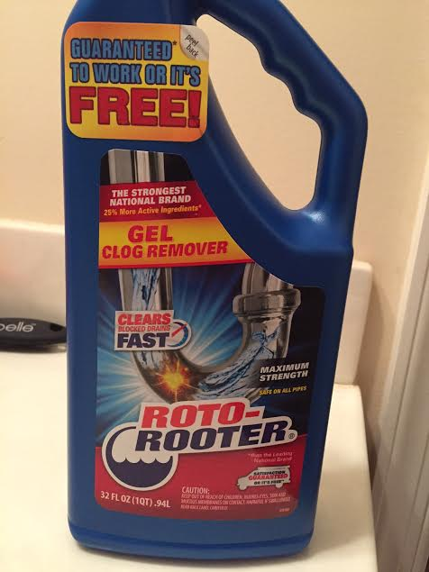 roto rooter gel clog drain cleaner