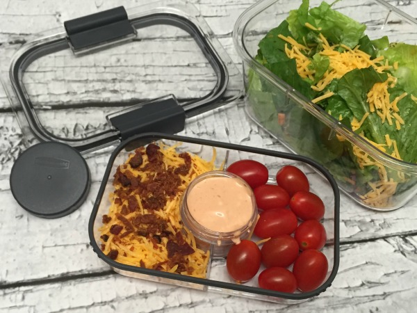 Rubbermaid BRILLIANCE salad homemade dressing