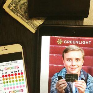 Greenlight, the smart debit card for kids: teaching money responsibility #ad #greenPMG #Pmedia