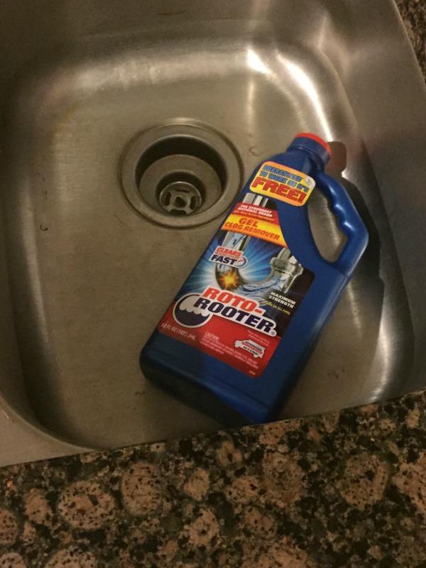 roto rooter kitchen sink drain