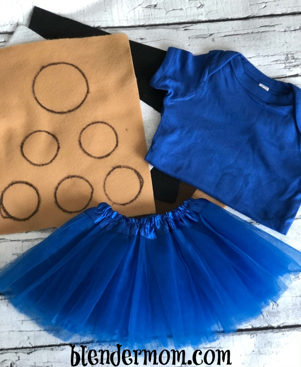 cookie monster costume DIY