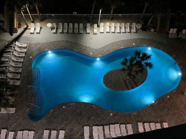 crown reef resort pool