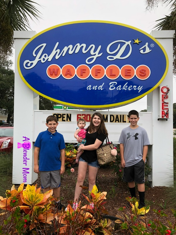 Johnny D's waffles Myrtle Beach SC