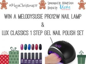 MelodySusie gel polish pro 12w nail lamp & lux classics gel polish #giveaway (US, 12/16)