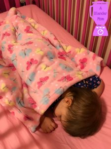 Shaking up our routine & trying to keep bedtime the same with Parent's Choice #WalmartBaby