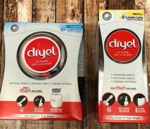 Dry clean at home with Dryel