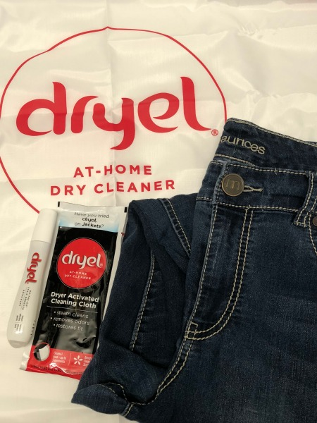 Dryel at home dry cleaner jeans