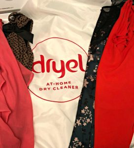 Saving my work clothes with Dryel at home dry cleaning