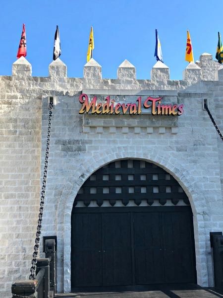 Medieval Times Orlando castle