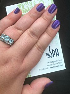 The Spa Orlando manicure