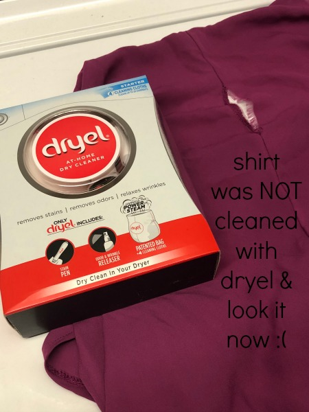 dryel at home dry cleaning